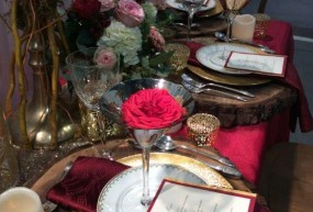 Red Tablescapes
