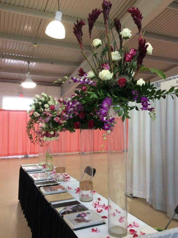 Flowers at RVA Bridal Show