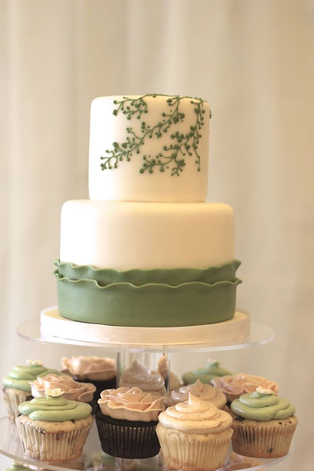 Passion Flower Green cake