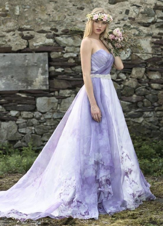 Lavender wedding dress virginia bride magazine lavender wedding dress junglespirit Choice Image